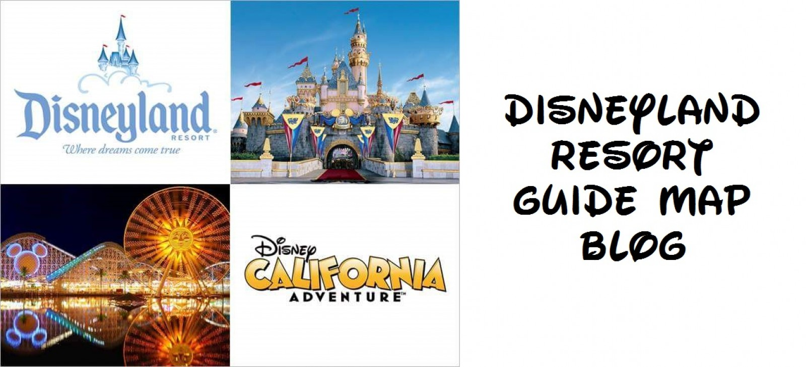 Disneyland Resort Guide Maps