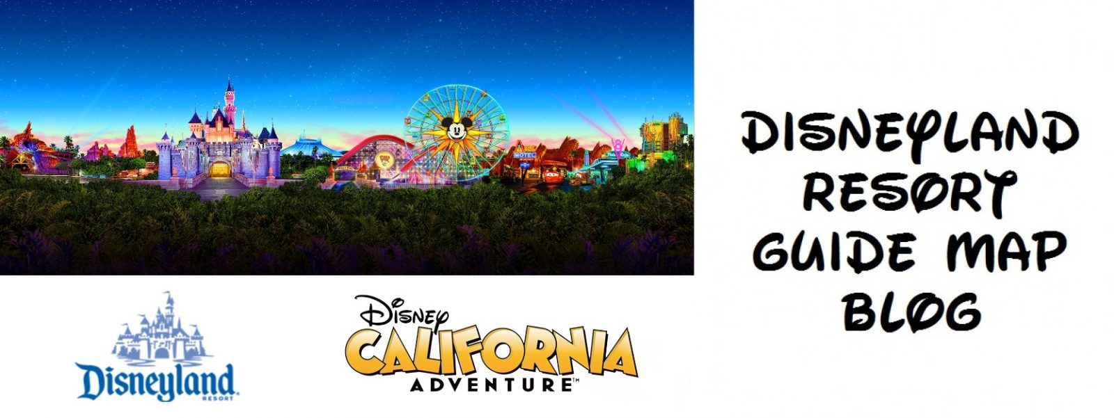 Map Of California Disney.Disneyland Resort Guide Maps Where Disneyland Resort Guide Map